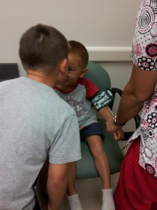 ethan 4yr old doctor visit