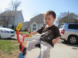 ethan riding bike