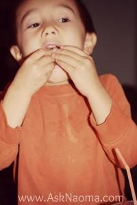 ethan eating